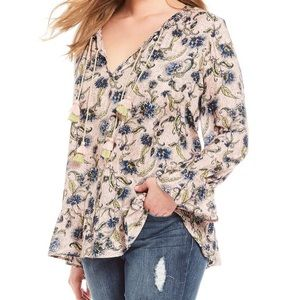 NWT Jessica Simpson Hesti boho blouse 2X